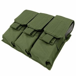 Condor® Ładownica molle Triple M4 Mag Pouch (MA58-001) - Olive Green