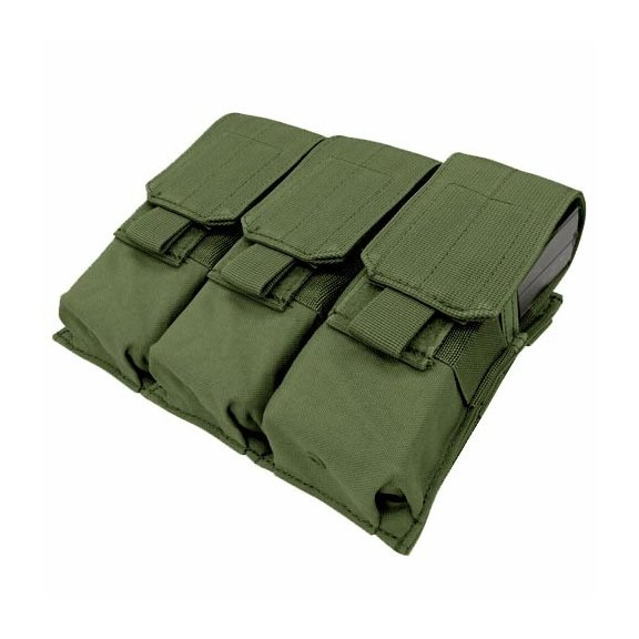 Ładownica molle Triple M4 Mag Pouch (MA58-001) - Olive Green