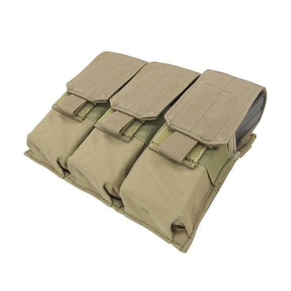 Condor® Ładownica molle Triple M4 Mag Pouch (MA58-003) - Coyote / Tan