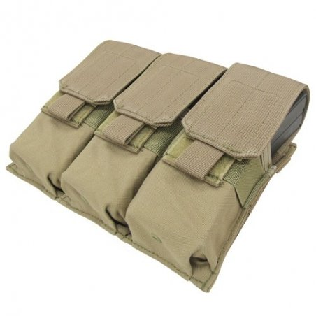 Ładownica molle Triple M4 Mag Pouch (MA58-003) - Coyote / Tan