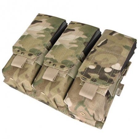 Condor® Ładownica molle Triple M4 Mag Pouch (MA58-008) - Multicam®