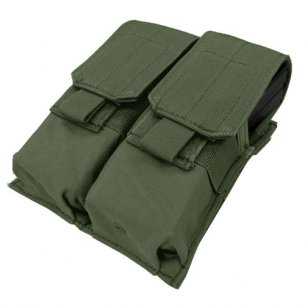 Ładownica molle Double M4 Mag Pouch (MA4-001) - Olive Green