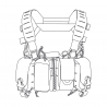 Direct Action® HURRICANE® HYBRID Chest Rig - Cordura® - Shadow Grey