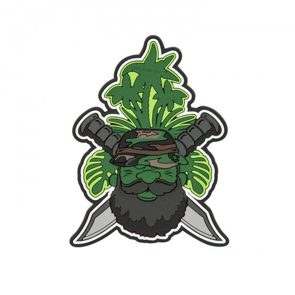"""Beardman PATROL"" Patch - PVC - Olive Green"