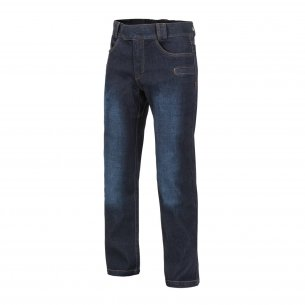 Helikon-Tex® Spodnie GREYMAN TACTICAL JEANS® - Denim Mid - Dark Blue