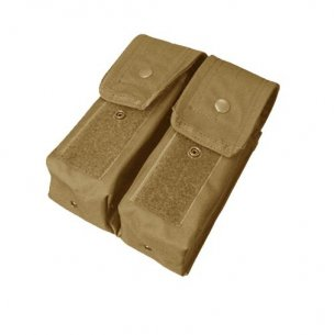 Condor® Double AR/AK Mag Pouch (MA6-003) - Coyote / Tan