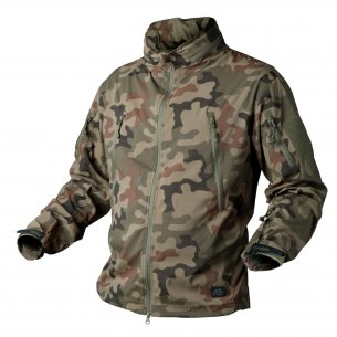 Kurtka TROOPER - Soft Shell - PL Woodland