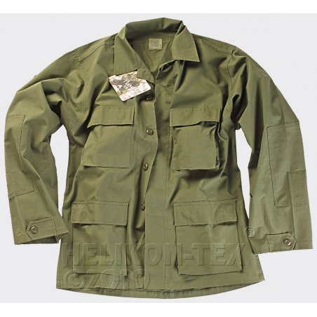 Bluza BDU (Battle Dress Uniform) - Twill - Olive Green