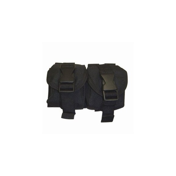 Double Frag Grenade Pouch (MA14-002) - Black
