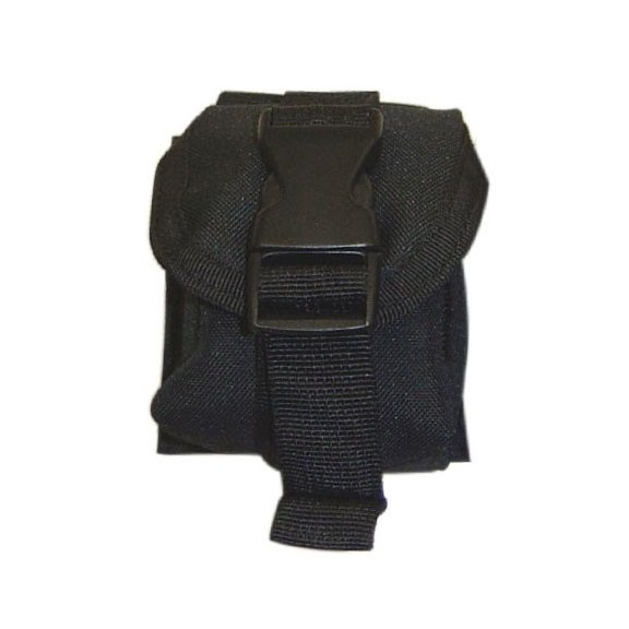 Single Frag Grenade Pouch (MA15-002) - Black