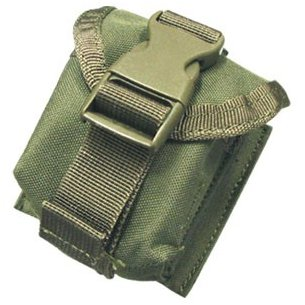 Single Frag Grenade Pouch (MA15-001) - Olive Green
