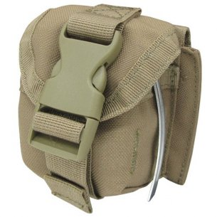 Condor® Single Frag Grenade Pouch (MA15-003) - Coyote / Tan