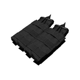 Condor® Double M4/M16 Open Top Mag Pouch (MA19-002) - Black