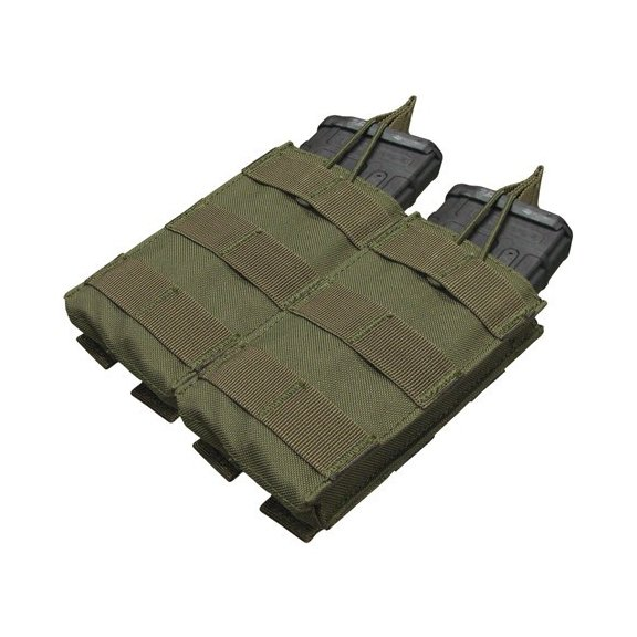 Condor® Ładownica molle Double M4/M16 Open Top Mag Pouch (MA19-001) - Olive Green