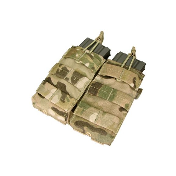 Condor® Ładownica molle Double M4/M16 Open Top Mag Pouch (MA19-008) - Multicam®
