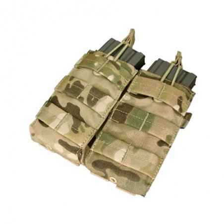 Condor® Double M4/M16 Open Top Mag Pouch (MA19-008) - Multicam®