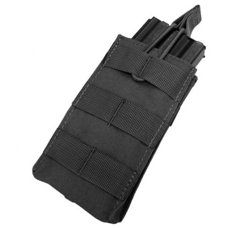 Open Top M4/M16 Mag Pouch (MA18-002) - Black
