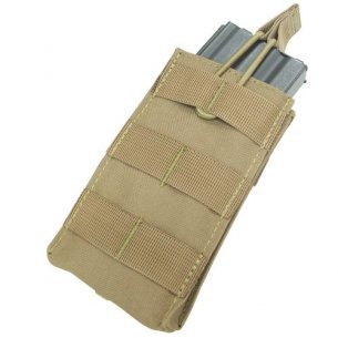 Condor® Open Top M4/M16 Mag Pouch (MA18-003) - Coyote / Tan