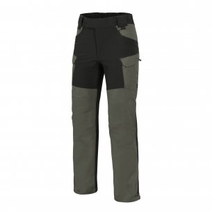 Helikon-Tex® HYBRID OUTBACK PANTS® - DuraCanvas® - Taiga Green / Black