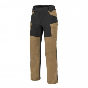 Helikon-Tex® HYBRID OUTBACK PANTS® - DuraCanvas® - Coyote / Black