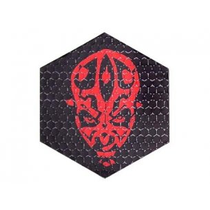 Combat-ID Velcro patch - Darkman (LD-BLK) - Black / Red