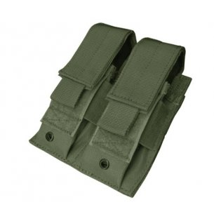 Ładownica molle Double Pistol Mag Pouch (MA23-001) - Olive Green