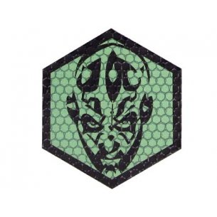 Combat-ID Velcro patch - Darkman (LD-GR) - Olive Green