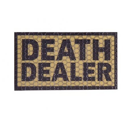 Combat-ID Velcro patch - Death Dealer (DD-CT) - Coyote / Tan