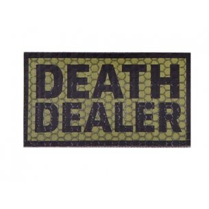 Combat-ID Velcro patch - Death Dealer (DD-OD) - Olive Drab