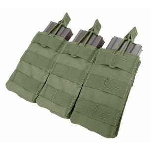 Condor® Ładownica molle Open Top M4/M16 Triple Mag Pouch (MA27-001) - Olive Green