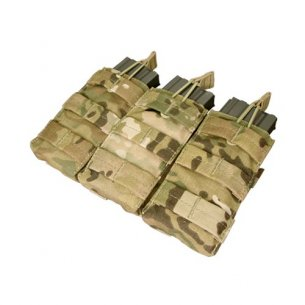 Condor® Ładownica molle Open Top M4/M16 Triple Mag Pouch (MA27-008) - Multicam®