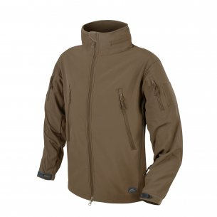 Helikon-Tex® GUNFIGHTER Jacke - Shark Skin - Mud Brown