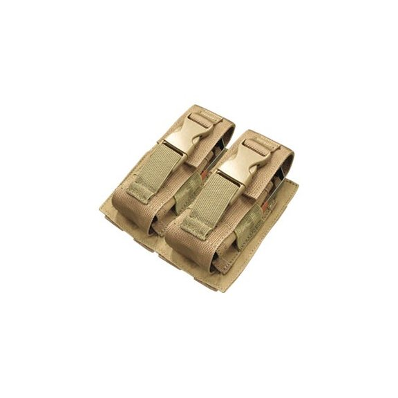 Kieszeń molle Double Flashbang Pouch (MA29-003) - Coyote / Tan