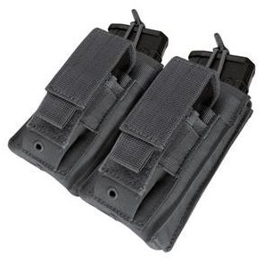 Double Kangaroo Mag Pouch (MA51-002) - Black