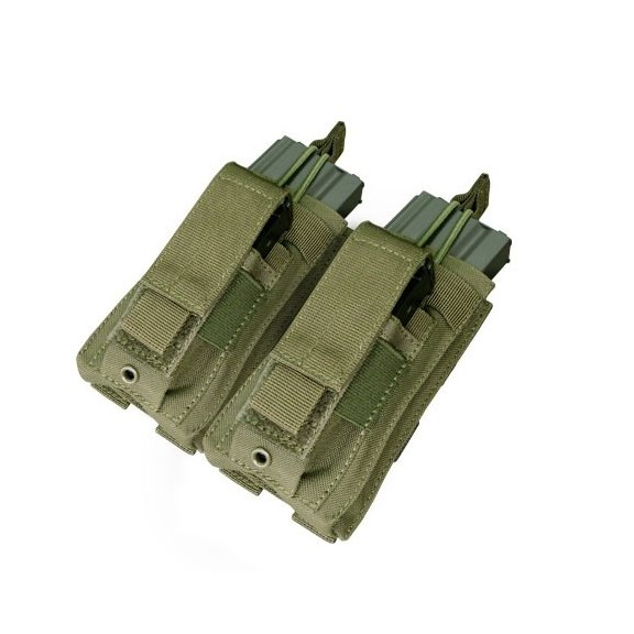 Ładownica molle Double Kangaroo Mag Pouch (MA51-001) - Olive Green