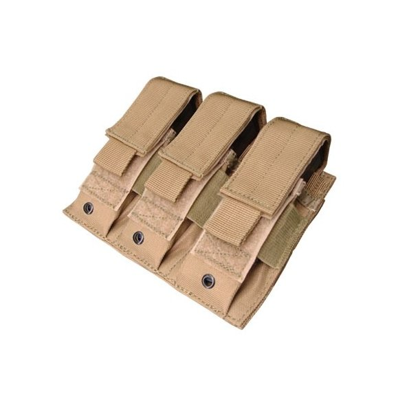 Ładownica molle Triple Pistol Mag Pouch (MA52-003) - Coyote / Tan