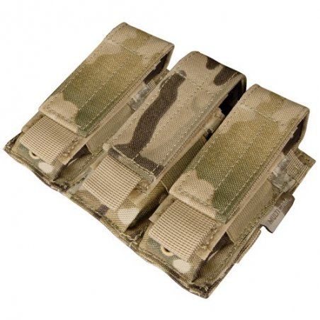 Condor® Ładownica molle Triple Pistol Mag Pouch (MA52-008) - Multicam®