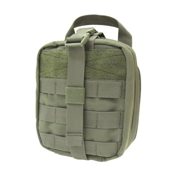 Rip-Away EMT Pouch first aid kit (MA41-001) - Olive Green
