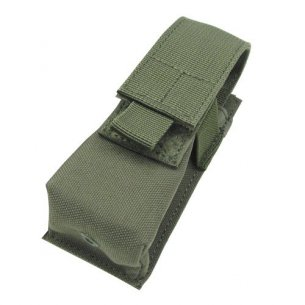 Condor® Single Flashlight / Tool Pouch (VA1-001) - Olive Green