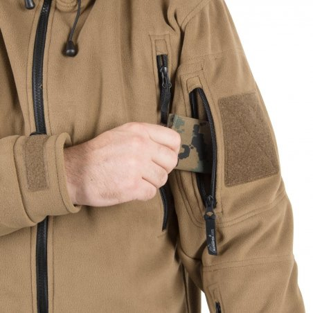 Helikon-Tex® PATRIOT Fleecejacke - Schwarz
