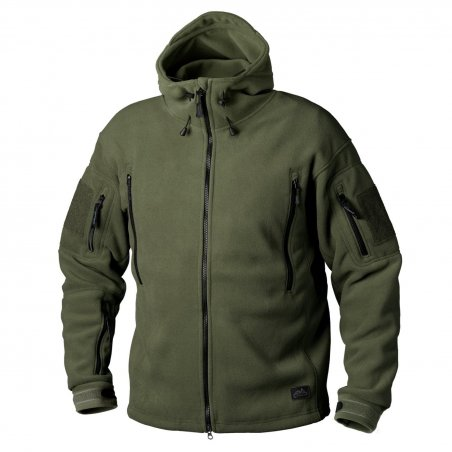 Helikon-Tex® PATRIOT Fleece jacket - Olive Verte