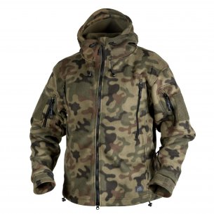 Helikon-Tex® PATRIOT Fleecejacke - PL Woodland