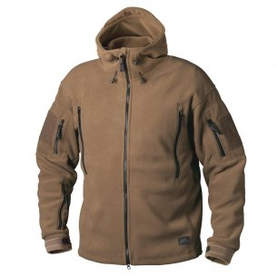 Helikon-Tex® PATRIOT Fleece Jacket - Coyote / Tan
