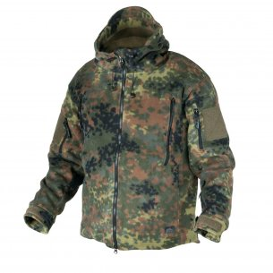 Helikon-Tex® PATRIOT Fleecejacke - Flecktarn