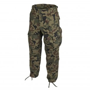 Helikon-Tex® CPU ™ (Combat Patrol Uniform) Trousers / Pants - Ripstop - PL Woodland