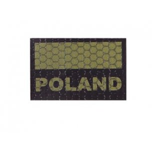 Combat-ID Velcro patch - Poland Flag Small (C3-OD) - Olive Drab