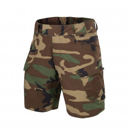 Helikon-Tex® Spodenki UTP® (Urban Tactical Shorts  ™) 8.5'' - Ripstop - US Woodland