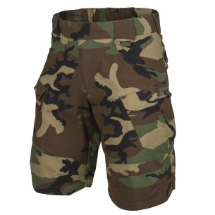 Helikon-Tex® UTP® (Urban Tactical Shorts ™) kurze Hose - Ripstop - US Woodland