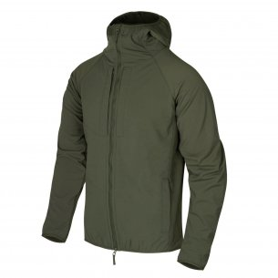 Helikon-Tex® Kurtka URBAN HYBRID SOFTSHELL® - StormStretch® - Taiga Green