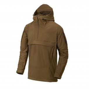 Helikon-Tex® Anorak MISTRAL® Jacket - Soft Shell - Mud Brown